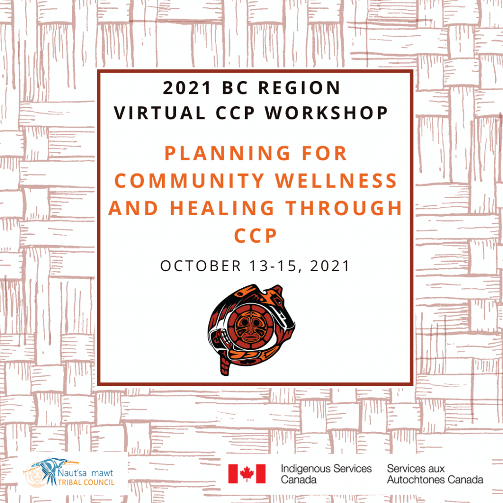 2021 BC Region Virtual CCP Workshop